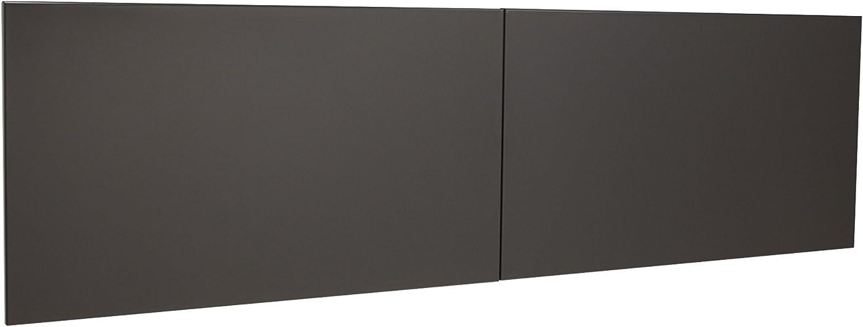 Lorell Stack-On Hutch Weekly update Kit Gray Charcoal Door Regular dealer