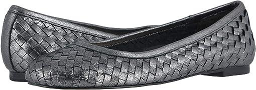 Dark Silver Dahlia Leather