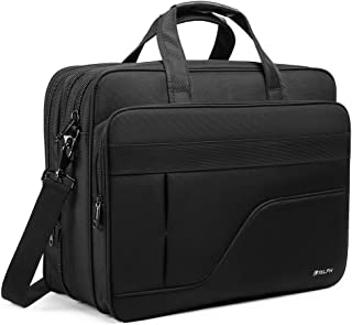 Laptop Briefcase,17 inch Laptop Bag,Water Resisatant Shoulder Bag,Thicken Nylon Multi-Functional Messenger Bags,Fit for 17 inch Notebook,Computer,Tablet MacBook