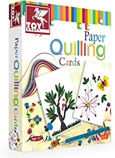 Toykraft Paper Quilling Kits (Paper Quilling - Cards)