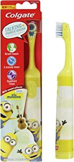 Colgate Battery Powered Kids Toothbrush Minions, Multi Color