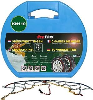 ProPlus 2x Schneeketten für Autoreifen 12' bis 18' 12mm KN110 Standmontage