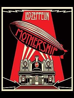 Kopoo Led Zeppelin Poster Mothership Poster, 12