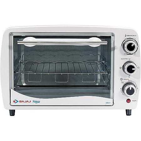 Bajaj 1603T 16L Oven Toaster Grill, White
