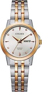 Citizen Women's Quartz Stainless Steel Strap, Multicolor, 14 Casual Watch (Model: EQ0605-53A)
