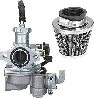 Atoparts Carburetor with Air Filter Carb For Honda ATV ATC90 ATC110 ATC125M TRX125
