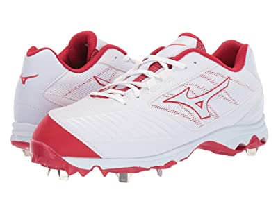 Mizuno 9-Spike Advanced Sweep 4 (White/Red) Women