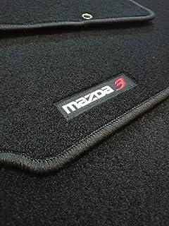 Juego Completo mazda3 Accesorionline Alfombrillas para Mazda 3 I 2003-2009 Todos los Modelos esterillas Anclajes Originales alfombras a Medida