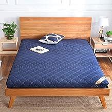 Futon Mattress Foldable Mattress Thicken Sleeping Tatami Mat Japanese Portable Camping Mattress Dorm Sleeping Pad-Gray 120...