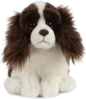 Living Nature Soft Toy - Plush Springer Spaniel Dog (20cm)