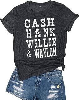 cash hank willie and waylon shirt