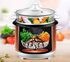 Huishoudelijke elektrische rijstkoker multifunctionele mini kleine rijstkoker roestvrijstalen binnenpot kan worden gebruik...