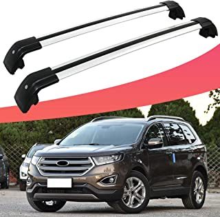 SnailAuto Adjustable Cross Bars Roof Rack Luggage Carrier Fit for Ford Edge 2017 2018 2019