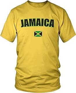 Men's Jamaica Country Flag, Jamaican Flag T-Shirt