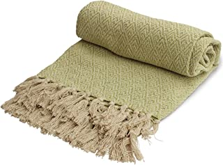 Stone Fishers Finery 100/% Cashmere Throw Blanket; Warm and Comfortable