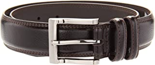 Florsheim Men's Pebble Grain 32mm Leather Belt