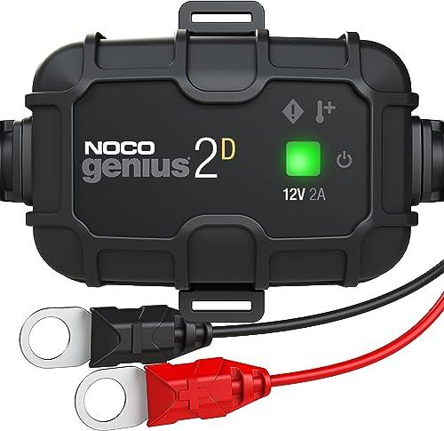 NOCO GENIUS2DEU, Chargeur Intelligent Montage Direct de 2A, Chargeur de Batterie 12V, Mainteneur de Batterie, Chargeu...