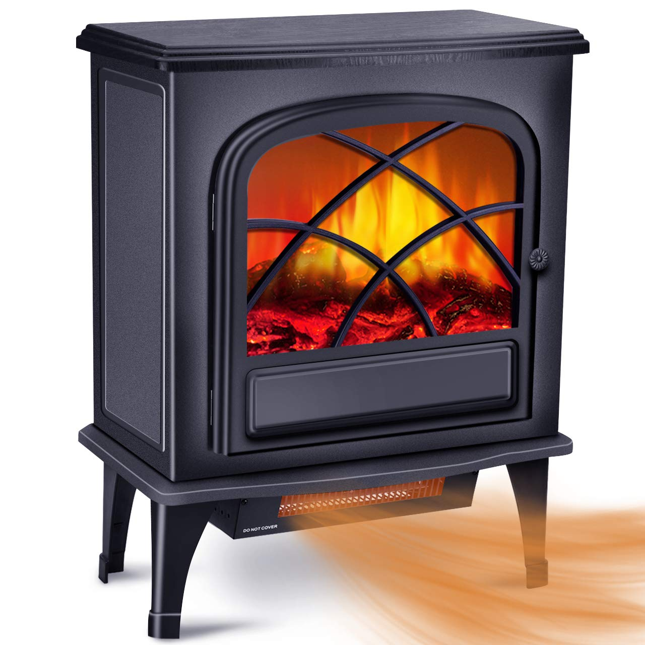 Infrared Fireplace Heater Electric Protection