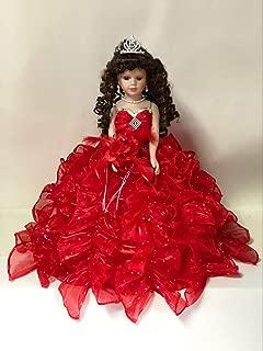 Best the crimson collection porcelain doll Reviews