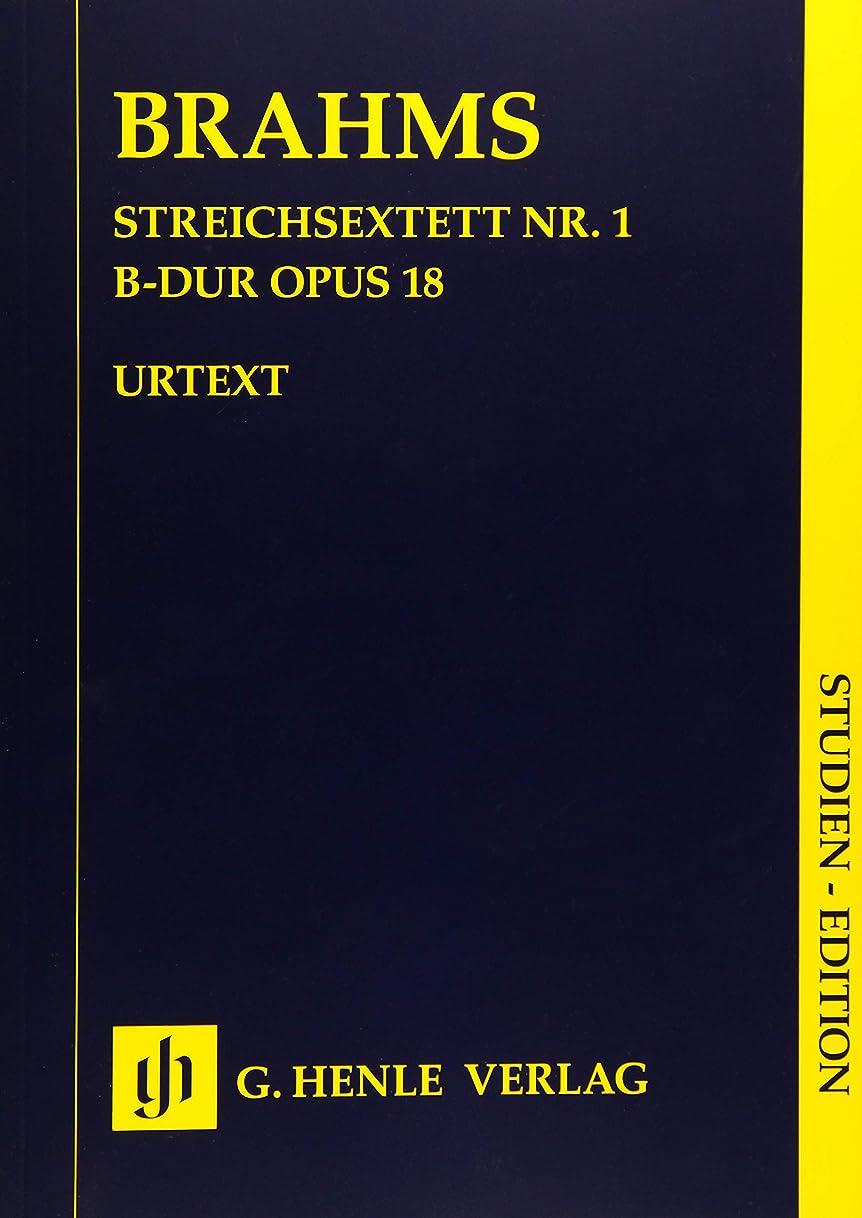 下位不潔ラベStreichsextett Nr. 1 B-dur op. 18 SE: Studienpartitur, Besetzung: 2 Violinen, 2 Violen, 2 Violoncelli