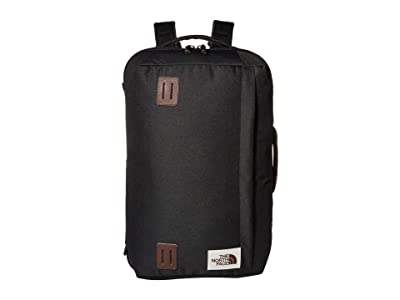 The North Face Travel Duffel Pack (TNF Black Heather) Backpack Bags
