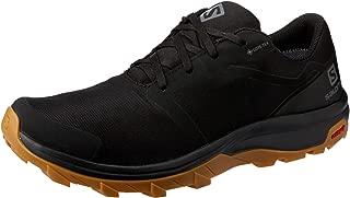 Salomon Outbound GTX - Men's Men's Trekking & Hiking Shoes, Black/Black/Gum1A, 8.5 US