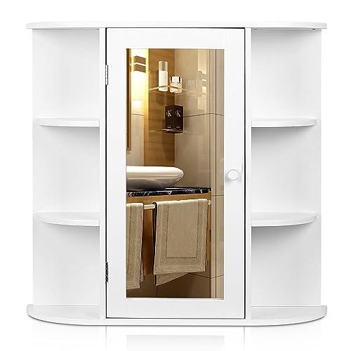 Armoire De Toilette Miroir Amazon Fr