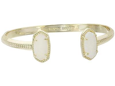 Kendra Scott Elton Bracelet (Gold Iridescent Drusy) Bracelet