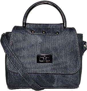 حقيبة للنساء-رمادي - حقائب طويلة تمر بالجسم