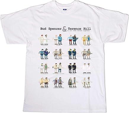 45f947267bf52b Centro Stampa Brianza T-Shirt Divertenti - t-Shirt Bud e Terence Film