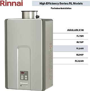 Rinnai RL Model Tankless Hot Water Heater: Indoor Installation