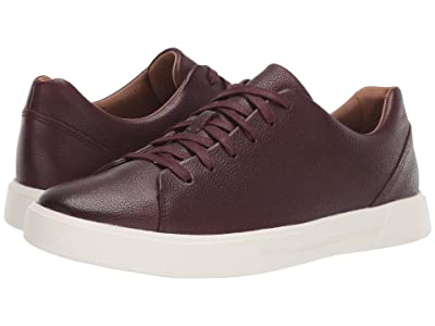 Clarks Un Costa Lace (Oxblood Grain Leather) Men