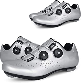Cycling Shoes, Professional Racing Car Road Biking Shoes, Lightweight Breathable Hyun-Color Self-Locking Shoes, Cycling Sh...