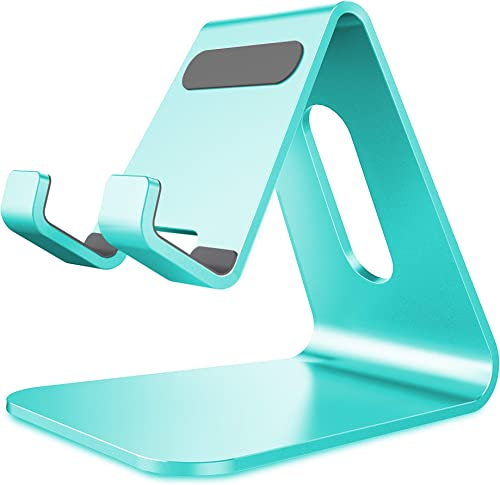 CreaDream Cell Phone Stand, Cradle, Holder,Aluminum Desktop Stand Compatible with Switch, All Smart Phone, iPhone 11 ...