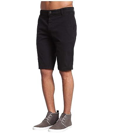 Mavi Jeans Jacob Shorts in Black Sateen Twill (Black Sateen Twill) Men