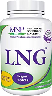 Michael's Naturopathic Programs LNG - 120 Vegan Tablets - High Potency Synergistic Blend of Herbs Traditionally Known for ...