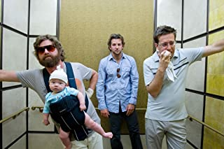 (24x36) The Hangover (2009) Movie Poster (SPECIAL THICK POSTER) Original Size 24x36 Inch - Bradley Cooper, Ed Helms, Zach Galifianakis