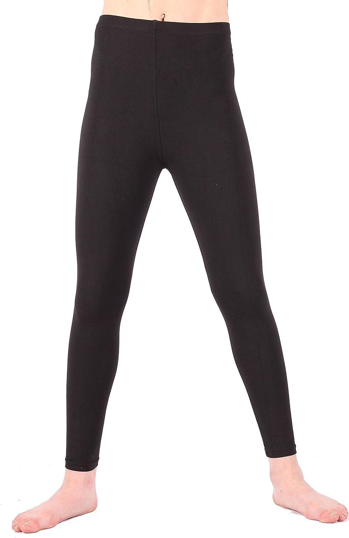 Lori&Jane Ankle Length Very Soft Leggings (Black Solid, L/XL)