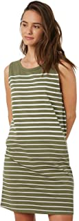 Swell Women's Layla Tank Dress Sleeveless Cotton Green