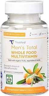 Trusted Organics Wholefood Multivitamins, for Men, 0.4