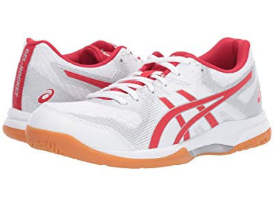 ASICS GEL-Rocket(r) 9 (White/Classic Red) Women