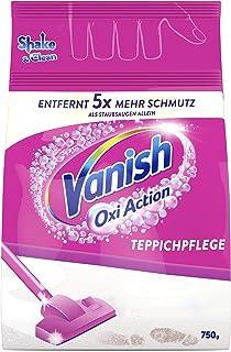 Vanish Gold Power Clean & Fresh Tapijtreiniger, Poeder, Voor Grote Oppervlakken, Tegen Vuil, Slechte Geur & Stof, 750 g