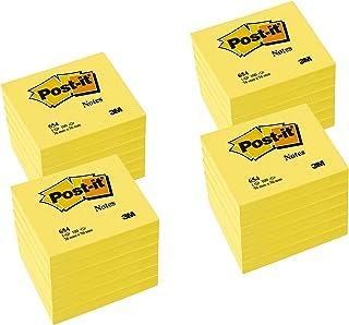 POST-IT Notes Post-it, 76 x 76 mm, jaune, 12 + 12 GRATUIT