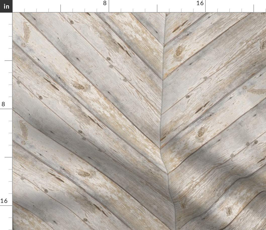 Spoonflower Fabric - Herringbone バーゲンセール Planks Wood Pr Farmhouse 購入 Rustic