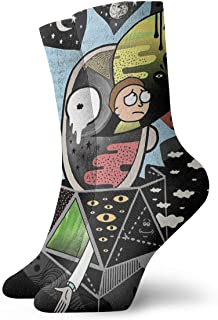 Head Space Rick Polarity Socks Sport Athletic Stockings 30cm Long Sock for Men Women