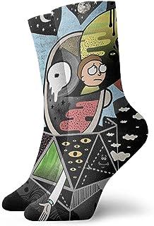 Head Space Rick Polarity Socks Sport Athletic Stockings 30cm Long Sock for Men Women