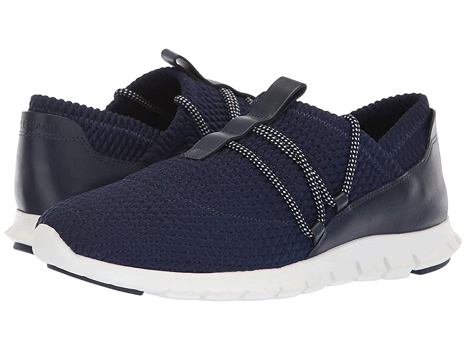 Cole Haan Zerogrand Quilted Sneaker (Marine Blue Quilt Stretch) Women