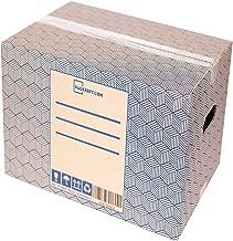 10 Cajas de Mudanza y Almacenaje resistentes con Asas (40x30x25cm) - Cajas de Carton para envio