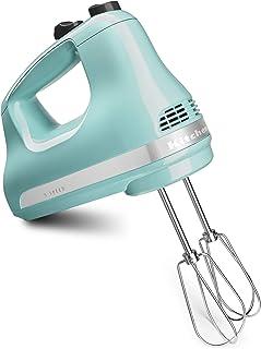 KitchenAid KHM512AQ Pro Line 5 Speed Hand Mixer, Aqua Sky (Renewed)
