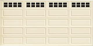 Household Essentials 232 Magnetic Faux Garage Door Windows | 32 Pieces for Double Car Steel Garage Door| Black